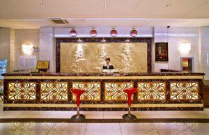 Ресепшен Экстерьер отель Омак Бэйдайхэ (Китай)