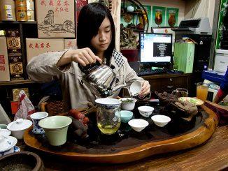 Китайский чай во время туров по Китаю